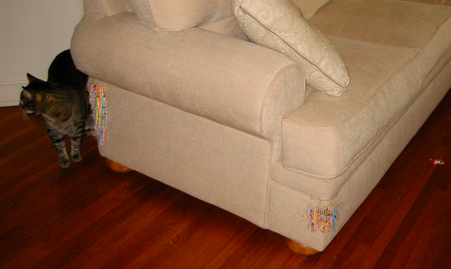 Sofa, Cat Toy, Or Work Of Art? The CatSofa Is All Three
