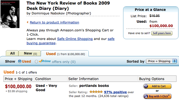 New York Review of Books 2009 Desk Diary