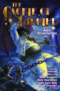 """Book cover for """"The Cackle of Cthulhu"""""""